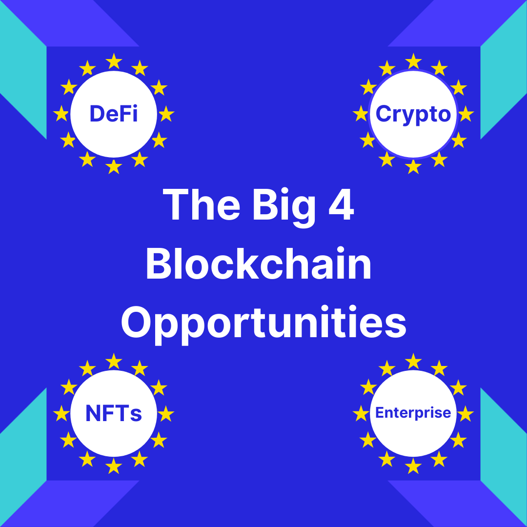 The Big 4 Blockchain Opportunities