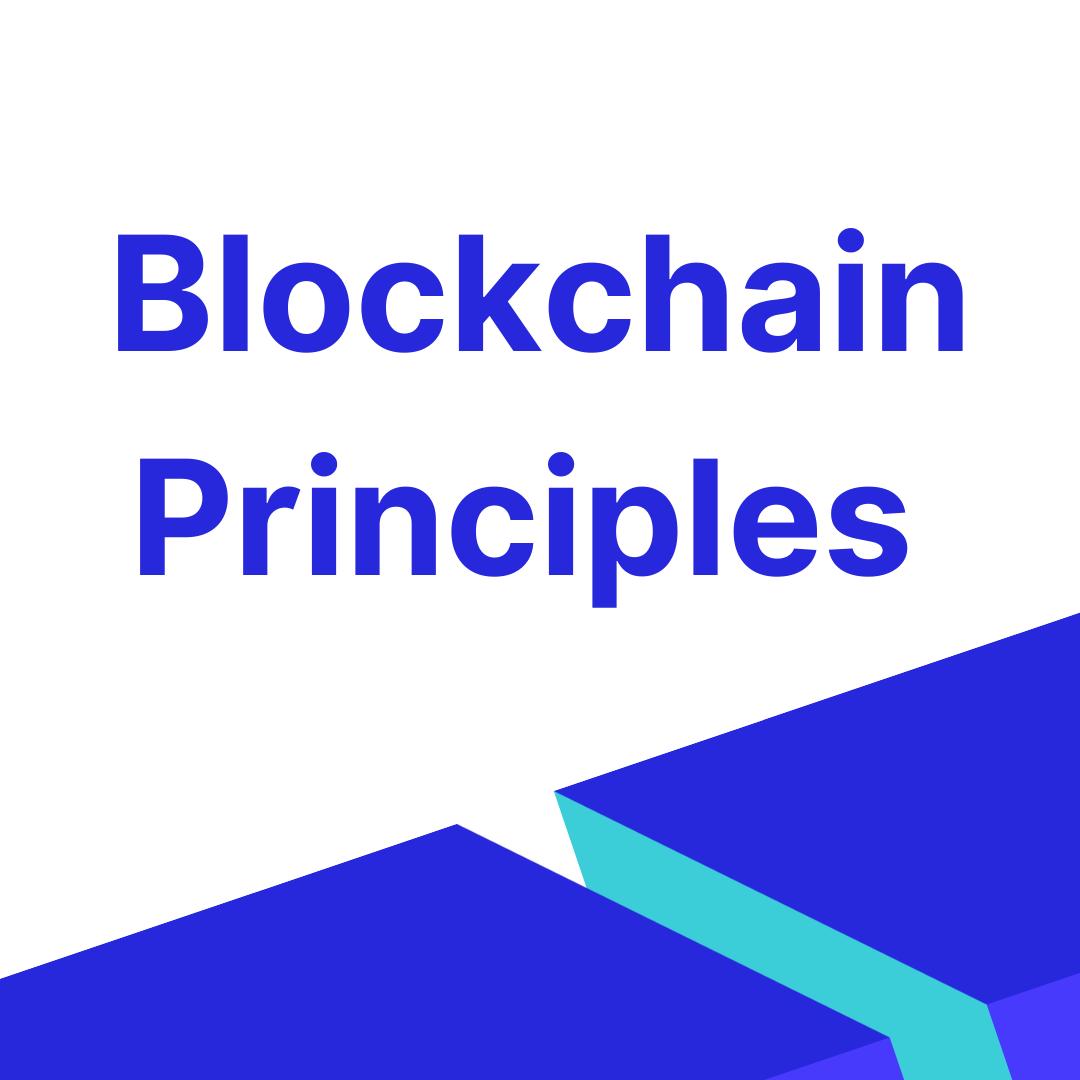 Blockchain Principles